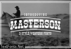Masterson Family Font