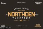 Northden Font