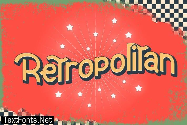 Retropolitan - Font