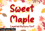 Sweet Maple Font