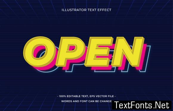 Text Effect Editable - Open