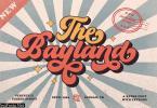 The Bayland - Retro Font - 5281586