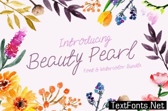 Beauty Pearl Font