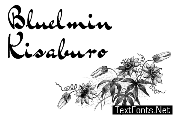 Bluelmin Kisaburo Font