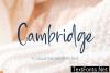 Cambridge Script Font