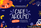 Care Around Font