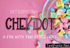 Chekidot Font
