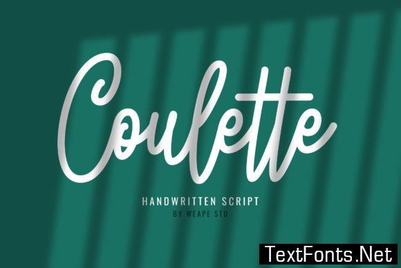 Coulette Font