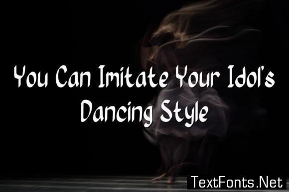 Dancing Queen Font