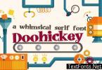 Doohickey Font