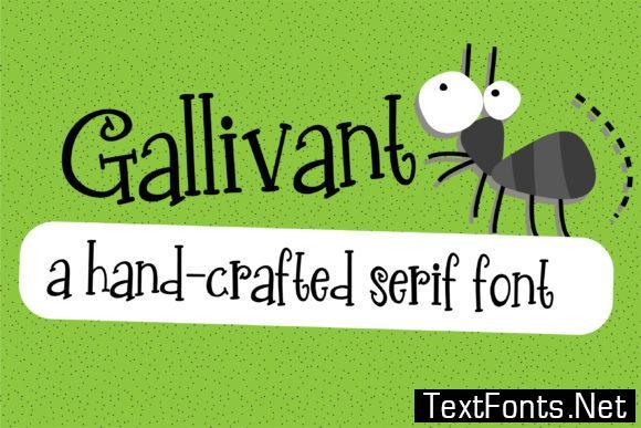 Gallivant Font