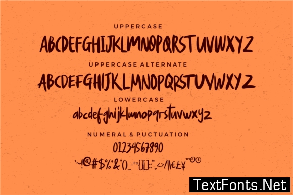 Glowria Font