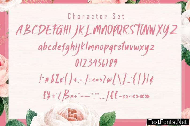 Haisthy Beauty Script Font