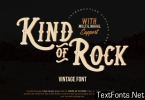 Kind of Rock Font