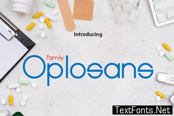 Oplosans Font
