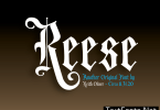Reese Font