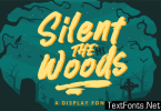 Silent the Woods Font