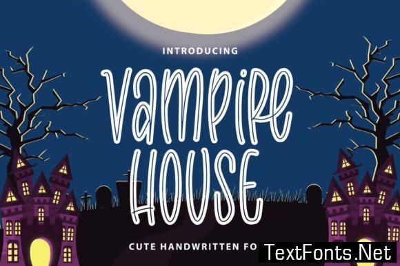 Vampire House Font