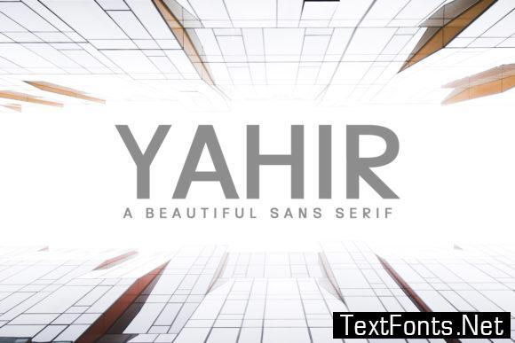 Yahir Family Font