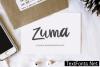 Zuma Font