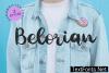 Belorian Font