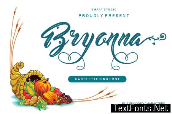 Bryonna Font