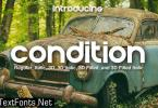 Condition Font