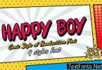Happy Boy Font
