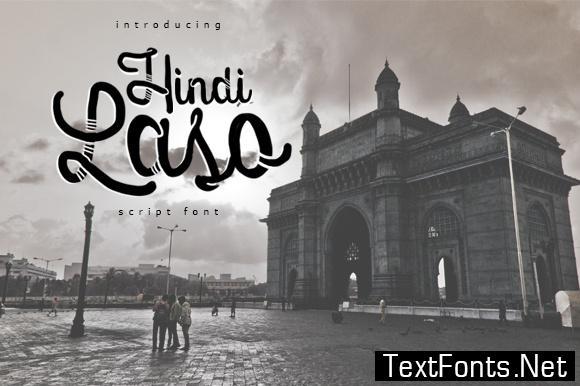 Hindi Laso Font