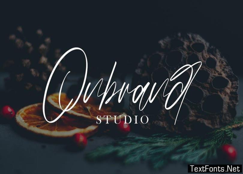 Hudzaifah | Modern Calligraphy Font