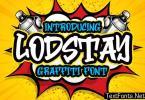 Lodstay - Graffiti Font