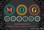 MOG Rhythm Font