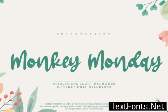 Monkey Monday Font