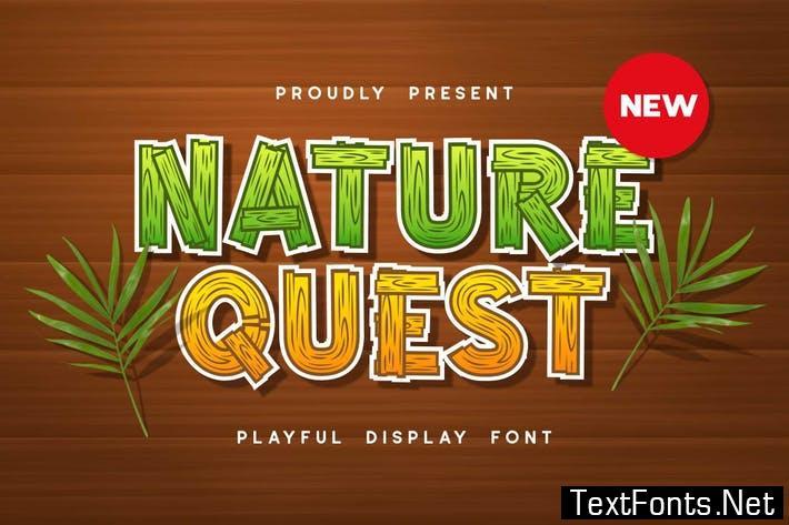 Nature Quest Font