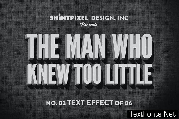 Old Movie Title - Text Effect n° 3 of 6 WTBUKG