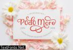 Podo Moro Font
