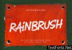RainBrush Font