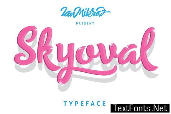 Skyoval Font