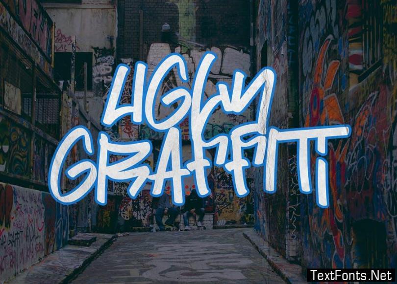 Street Power | Graffiti Font