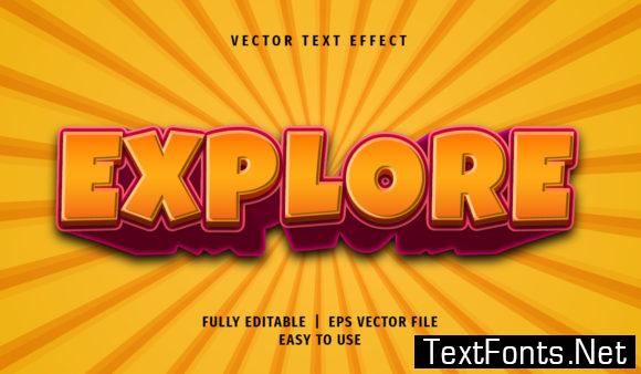 Text Effect - Explore Text Style