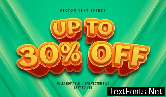 Text Effect - Up to 30% off Text Style