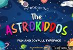The Astrokiddos Font