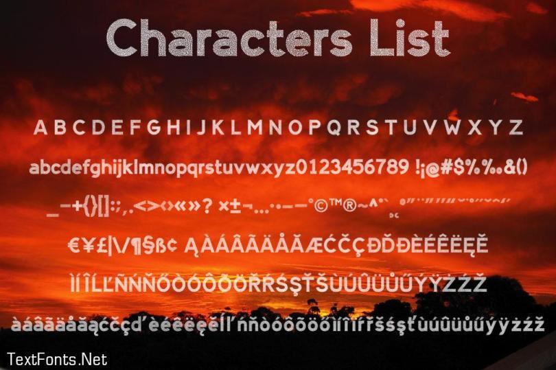 Alien Sign Font