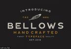 Bellows Font
