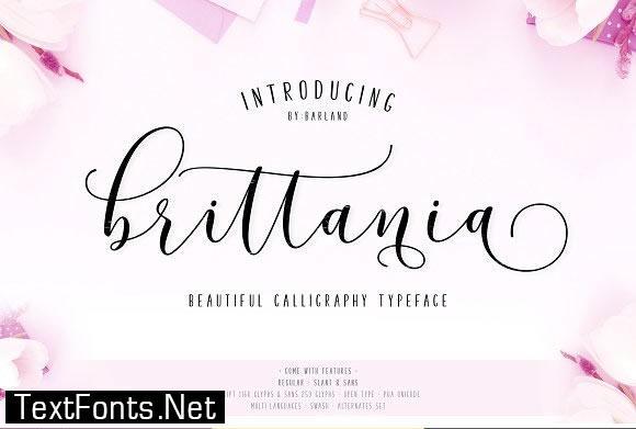 Brittania Font