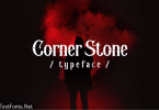 Corner Stone Font