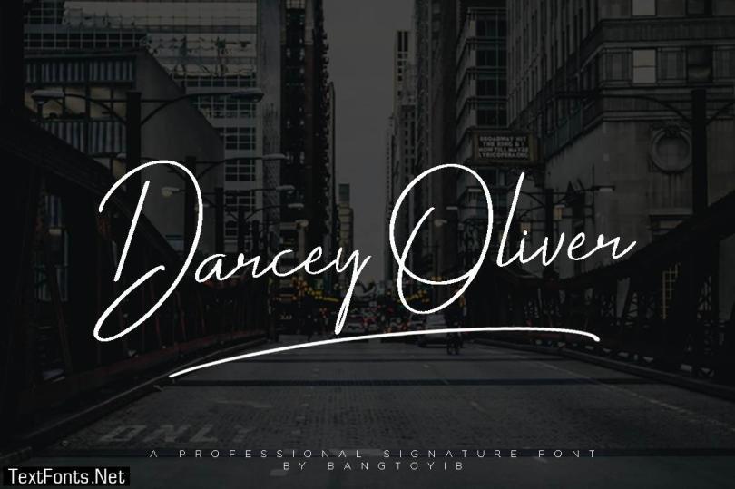 Darcey Oliver Font
