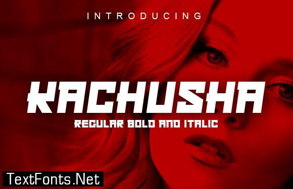 Kachusha Font