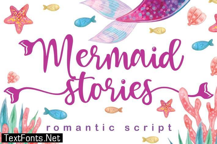 Mermaid Stories Font