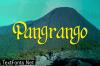 Pangrango Font